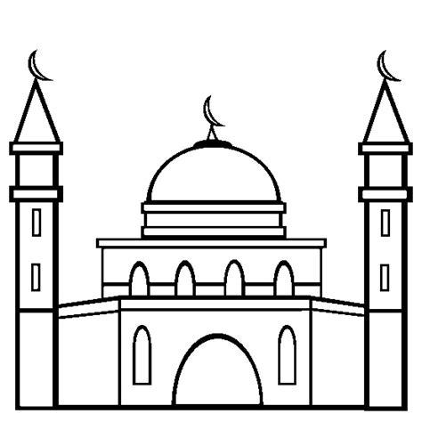 32 kumpulan gambar mewarnai anak muslim untuk belajar mewarnai