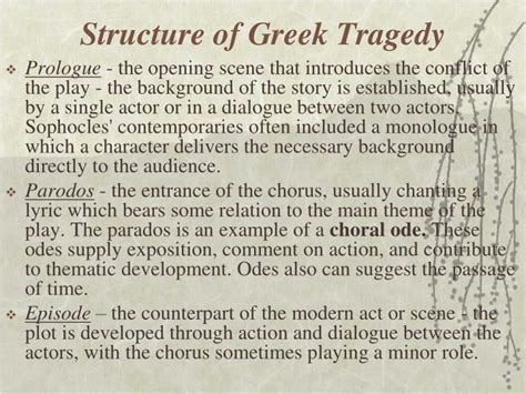 themes of the story antigone ppt introduction to antigone and greek tragedy