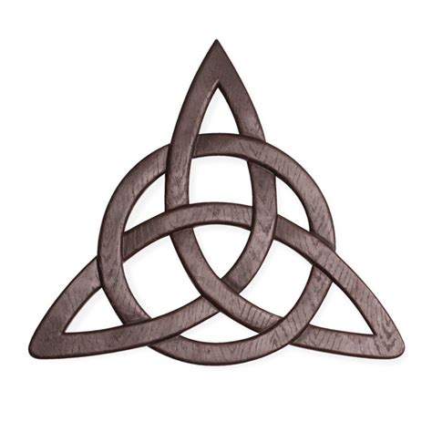 celtic resin trinity knot hanging wall decor accent faith