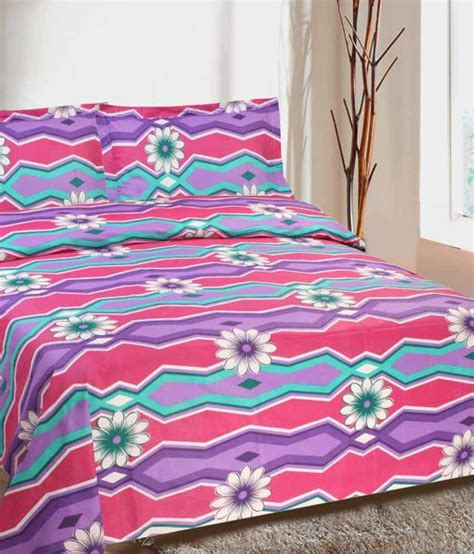 goodwill beds goodwill cotton single bedsheet set with 2 pillow covers