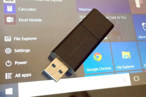 install windows 10 to flash drive how to clean install windows 10 using usb flash drive or