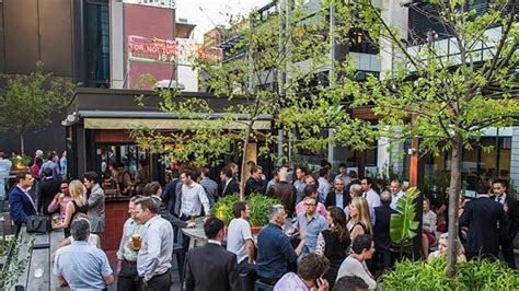 top bars in perth bob s bar at the print hall rooftop bar in perth therooftopguide com