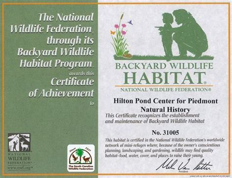 backyard habitat certification on becoming a certified backyard wildlife habitat