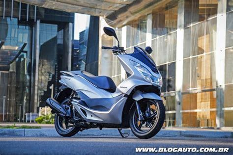 Pcx 2018 Azul Escuro by Scooter Honda Pcx 2018 233 Lan 231 Ado Cor Blogauto