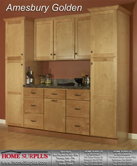 Golden Cabinets by Amesbury Golden Cabinets Home Surplus