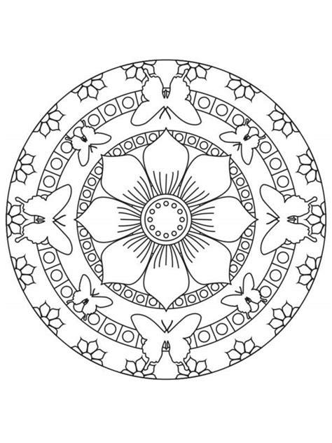 imagenes de mandalas con flores pintando y coloreando mandalas con flores