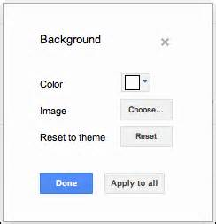 docs background color add a theme or background image docs editors help