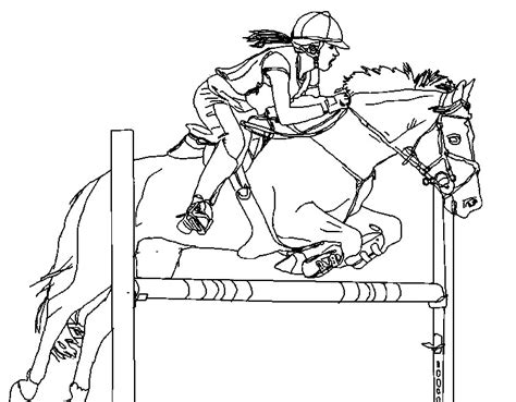 coloring pages horses jumping horse show jumping coloring pages coloring page
