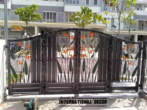 choice of gate designs for house and garage