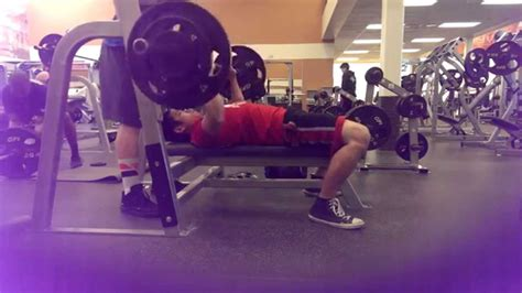 195 bench press bench 195 youtube