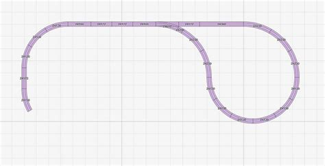 2m mal 2m bettdecke h0 gleisplan auf 2 5 x 1 4 meter mit bahnhof kehrschleife