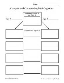 Comparison Graphic Organizer Template by 8 Best Images Of Comparison Chart Template Word Word