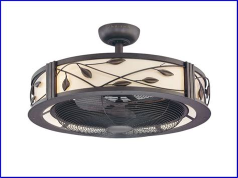 caged outdoor ceiling fans modern caged ceiling fan cookwithalocal home and space