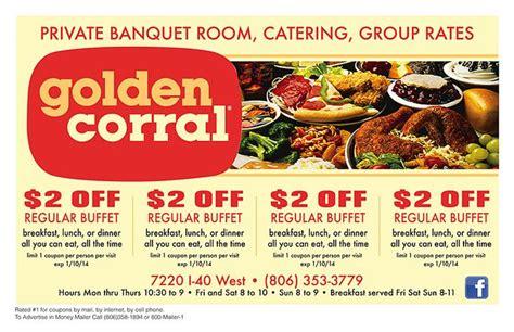 golden corral printable gift cards golden corral coupon 2014 2 off regular buffet breakfast