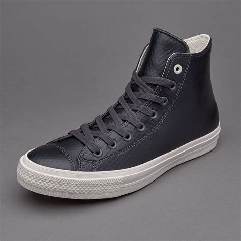 Sepatu Converse All Chuck High sepatu sneakers converse chuck all ii hi mesh backed leather almost black