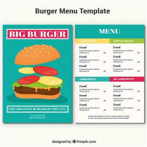 free eps format editor template burger menu vector free download