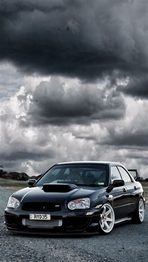 subaru racing wallpaper black subaru wrx sti iphone 5 wallpaper 640x1136