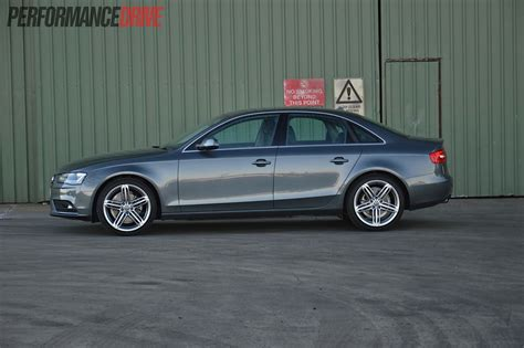 Audi A4 2013 2013 audi a4 sport edition review performancedrive