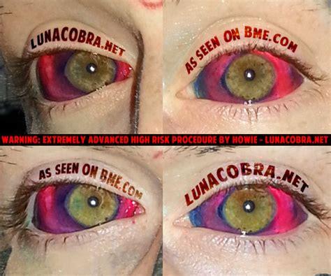 a word on eyeball tattooing real horror eyeball tattooing sniderwriter