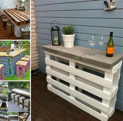 diy pallet patio wine bar usefuldiycom