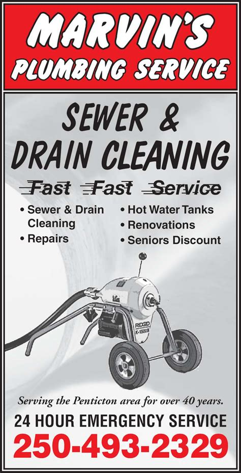 Cheap Plumbing Service by Marvin S Plumbing Service Opening Hours