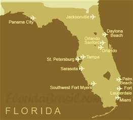 florida airports map book covers