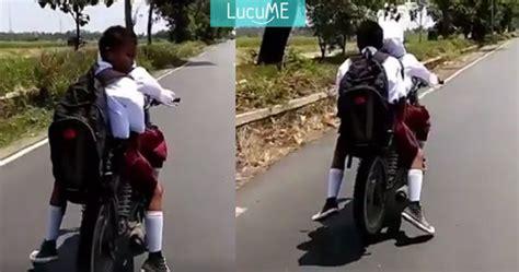 Helm Kyt Anak Jalanan anak sd naik motor ngebut nggak pakai helm antara miris cur ngakak kumpulan jokes gambar