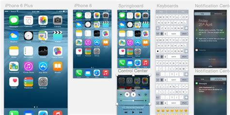 design apple ios best ios8 apple watch ui gui kits 2015 free