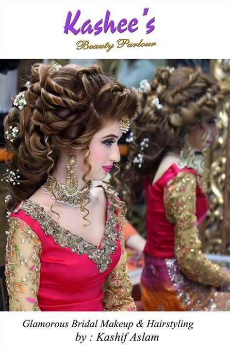 ideas of kashees makeup and hairstyle pictures for brides 2017 kashee s bridal makeup hairstyle ideas 2016 style collectx
