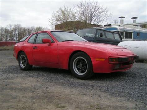 repair anti lock braking 1983 porsche 944 on board diagnostic system sell used 1983 porsche 944 red in stanley new york united states for us 4 000 00