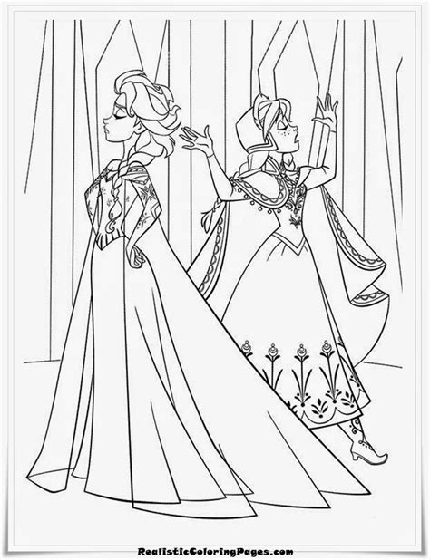 little elsa coloring page little anna coloring pages