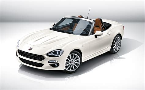 fiat spider fiat 124 spider 2017 wallpaper hd car wallpapers id 6066