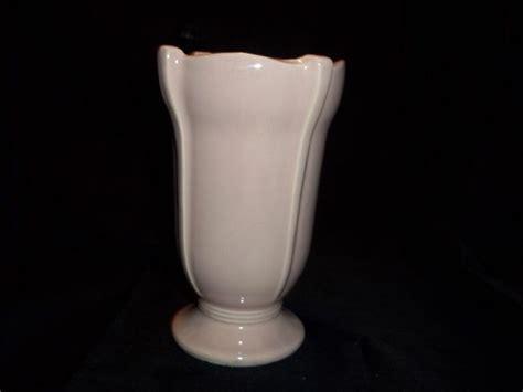Mccoy Pink Vase by Vintage Mccoy Pottery Pink Deco Vase Planter