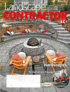 small s featured in march 2014 landscape contractor