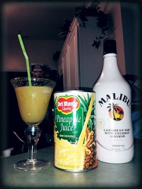 malibu what to mix it with malibu rum pineapple juice drinks the o