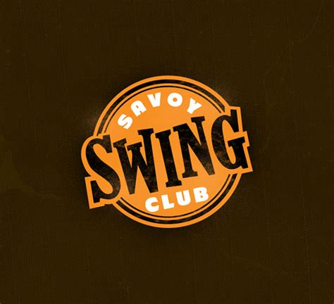 savoy swing club savoy swing club brand website on behance