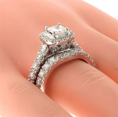 VIP Jewelry Art   3.28 CT Prong Set Princess Cut Diamond