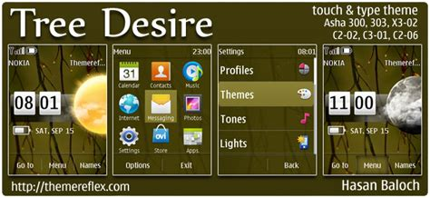 free themes for nokia c2 02 touch and type tree desire live theme for nokia asha 303 300 x3 02 c2
