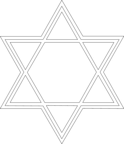 star of david pattern use the printable outline for abcteach printable worksheet star of david pattern