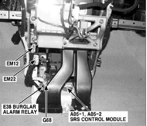 airbag deployment 2010 kia rio transmission control where is the air bag module on a 2006 kia sedona