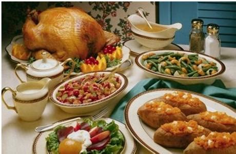 Traditional Thanksgiving Dinners