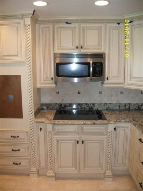 Glazed White Kitchen Cabinets White With Glaze Traditional Kitchen Cabinetry Other Metro By Gentry S Product