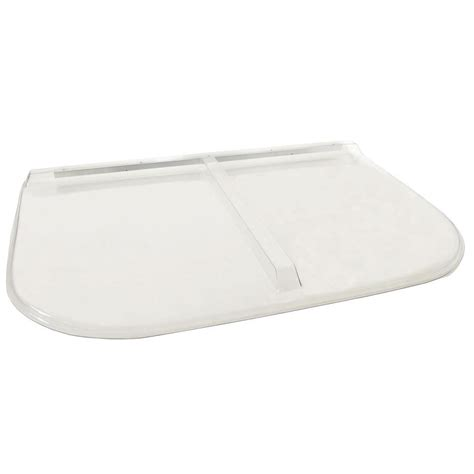 u shaped covers shape products 58 in x 38 in polycarbonate u shape