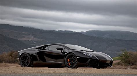 Black And Lamborghini Aventador Black Lamborghini Aventador Wallpaper 4242 1920 X 1080