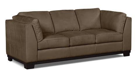 oakdale sofas oakdale microsuede sofa cocoa united furniture warehouse