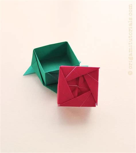 Origami Box Tutorial - 1015 best images about origami boxes containers on