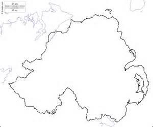 Ireland Blank Map by Blank Map Of N Ireland