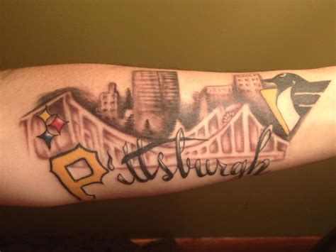 pittsburgh tattoo pittsburgh steelers ideas ideas center