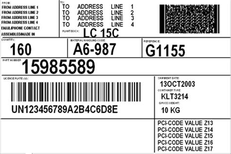 Print Gm1724 Bar Code Labels With Labelright Label Priting Software From Worth Data Auto Labels Templates