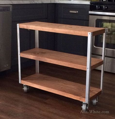 how to build a kitchen island cart rolling kitchen island cart plans woodworking projects